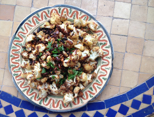 Rafele cauliflower med